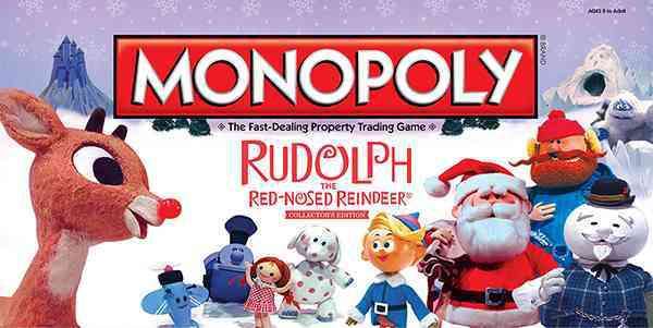 USAopoly Monopoly : Rudolph the Red-nosed Reindeer Collector�s Edition By Usaopoly (COR) at Sears.com